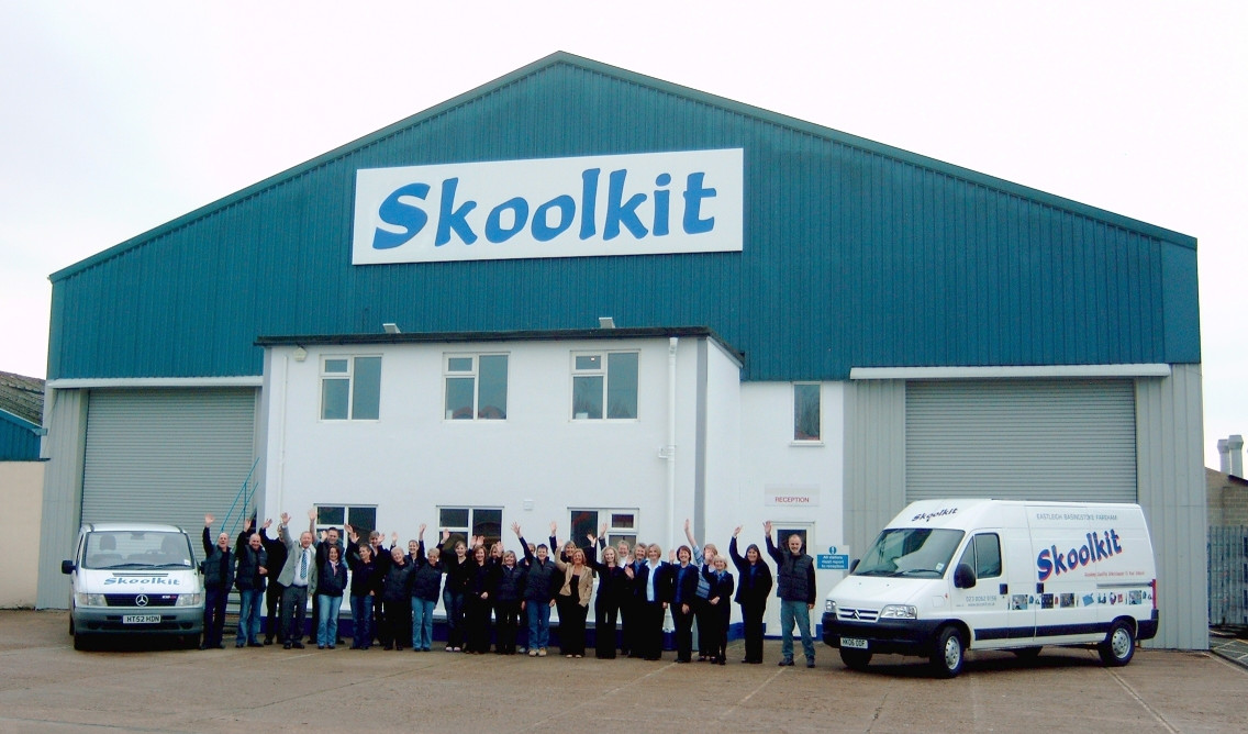 Head Office with the Skoolkit crew.